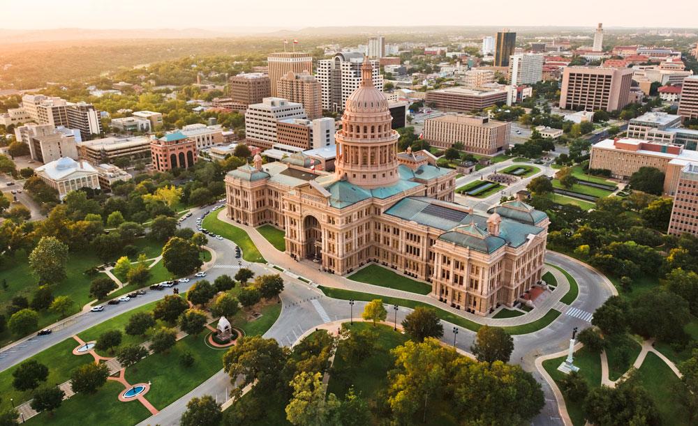 Austin Texas capitol building