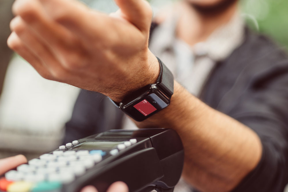 contactless payments with apple pay on apple watch