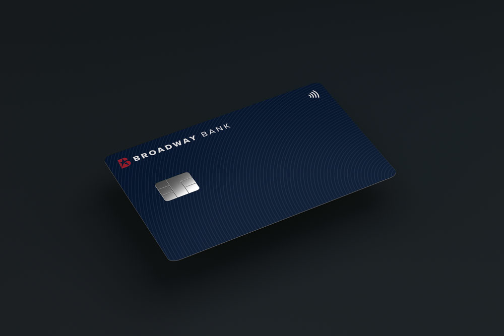 The Broadway Bank Visa Signature Elite Card