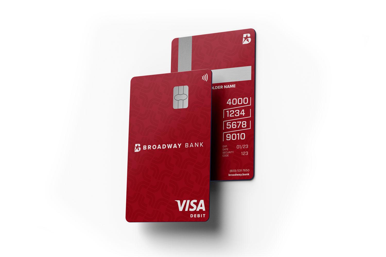 Broadway Bank Debit Card