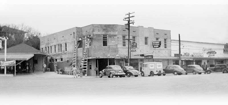 Broadway Bank in 1941